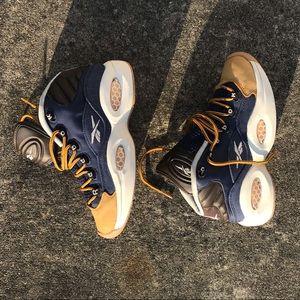"Reebok Shoes - Reebok Iverson Question Retro ""Dress Code"" Size 5"